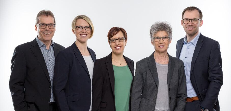 Team der Burgstahler Finanz- und Vorsorgeberatung in Linkenheim-Hochstetten bei Karlsruhe