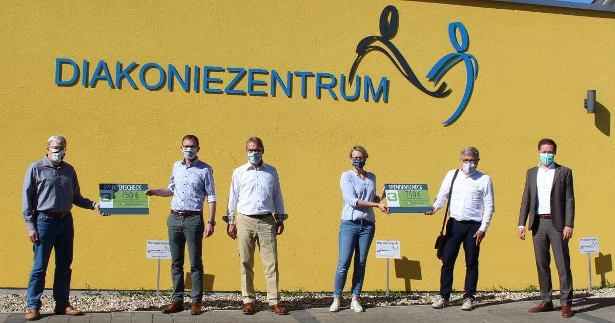 Spendenübergabe in Linkenheim-Hochstetten