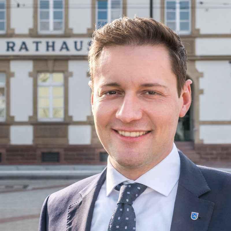 Schirmherr von Müllennium - Bürgermeister Michael Möslang aus Linkenheim-Hochstetten